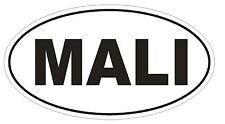 Mali Oval Bumper Sticker or Helmet Sticker D2205 Euro Oval Country Code