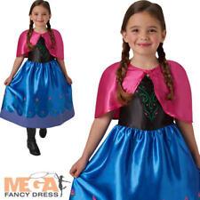 Anna robe fantaisie fille enfants reine des glaces disney princesse enfant costume outfit neuf