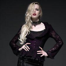 Punk Rave Vampiress Jas - Blouse Zwart-Paars - Gothic Lolita Elegant Y-495