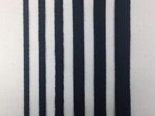 Thin Flat Elastic black or white 3 metres