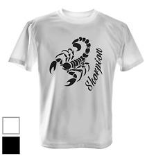 Skorpion vertikal Herren T-Shirt Fun Shirt Scorpion Horoskop Sternzeichen Zodiak