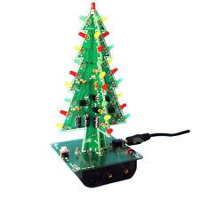 Colorful Christmas Tree Decorations LED Markers Blinking Light DIY Kit US