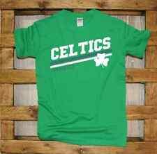 T-Shirt girocollo manica corta Supporters J370 Celtics Supporter quadrifoglio