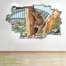 Kuala Autocollant Mural 3D LOOK - chambre salon nature animal Z179