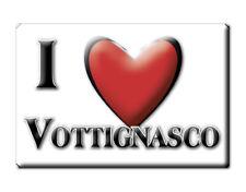 CALAMITA PIEMONTE FRIDGE MAGNET MAGNETE SOUVENIR LOVE VOTTIGNASCO (CN)