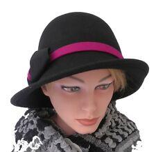 Damen Hut elegant Wollhut Farbauswahl Damenhüte warm Winterhut schick Mütze