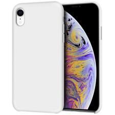 Anuck iPhone XR Case, Anti-Slip Liquid Silicone Gel Rubber Bumper Case with Soft