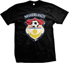 Netherlands National Holland Nederlands Oranje Soccer Football Mens T-shirt