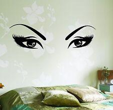 Wall Vinyl Decal Sexy Eyes Beauty Hair Salon Barbershop Amazing Decor z3756