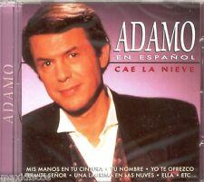 CD - ADAMO EN ESPAÑOL - CAE LA NIEVE (CHANSON) PRECINTADO OYE  NEW SEALED LISTEN