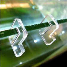 Aquarium Tank Glass Cover Acrylic Clip Holder 10 pcs in set!!