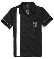 Men's, Rockabilly shirts, Hot Rod, Rock n roll, Route 66, car shirt.