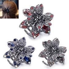 Crystal Hair Clip Rhinestone Hairpin Claw Clamp Wedding Women Hair Accessories