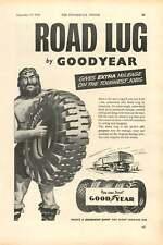 1954 Goodyear Tyre Haulage Solex Carburettor Ad