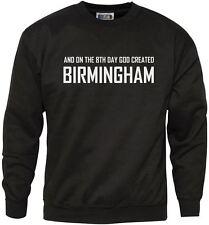 8º día Dios creó Birmingham Jumper-Inglaterra Unisex Sudadera Adultos + Juventud