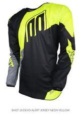 Shot Kids Devo Alert Jersey Neon Yellow MX Motocross Dirt Off-Road A0D-12C1-A07