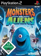 Monsters vs. Aliens - Das Spiel (Sony PlayStation 2, 2009, DVD-Box)
