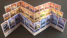 Disney Pixar figurine cards Simply CARS 3 Auchan Saetta McQueen -no punti scuola