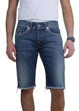 True Religion Men's Geno Slim Straight Super T Shorts Mar Vista M24J19SGJ4