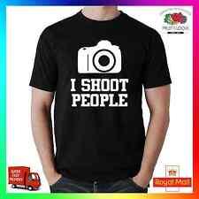 Disparo personas Camiseta Tee Tshirt Gracioso Tumblr Hipster insta fotógrafo Cam