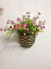 Artificial silk wedding home decor flower Cineraria Chrysanthemum Daisy F80