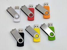 USB Flash Drive - Swivel - 2.0 - unbranded 512MB 1GB 2GB 8GB 16GB 32GB 128GB LOT