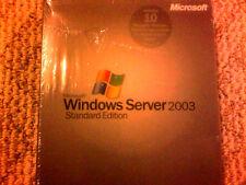Microsoft Windows Server 2003 Standard,10CALs,SKU P73-00003,Full Retail Box,BNIB