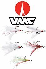 VMC 8651DT DRESSED X-RAP TREBLE HOOK 2 PACK select sizes