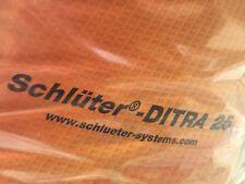 10,99€/m² Schlüter Entkopplungsbahn Entkopplungsmatte Ditra Ditra25 1 - 30 qm