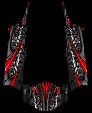Polaris 4 RZR 1000 xp Design Jet Decal Graphic Kit Wraps UTV Turbo Scoop
