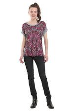Desigual Sevilla Mandala Print Tshirt Top XS-XXL UK 8-18  RRP£44 Sparkly