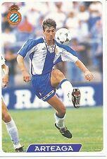N°100 ARTEAGA # RCD.ESPANYOL OFFICIAL TRADING CARD MUDICROMO LIGA 1996