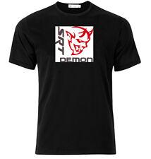 Dodge Demon SRT - Graphic Cotton T Shirt Short & Long Sleeve