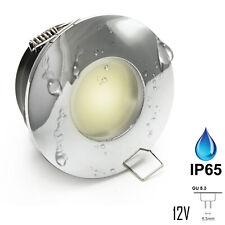 Faretto led incasso IP65 illuminazione box doccia luce bagno turco 12V MR16 7W