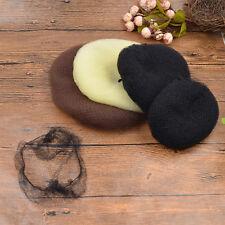 Women Invisible Hair Nets Elastic Bun Mesh Hairnet Hair Accessories Snood Black