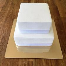 Square Cake Board - Gold Mirror