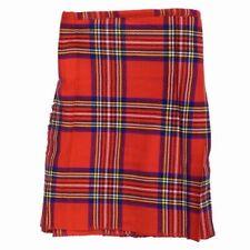 New Scottish Tartan Kids Royal Stewart Party Wedding Kilt Childrens All Sized