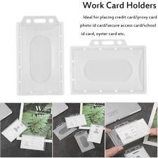 PU Leather Card ID Credit Card Business Name Holder Case Book Organizer Kee U8P0