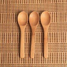 3 PC Thé Soupe Cuillère En Bambou En Bois Jam Scoop Ustensile De Cuisine