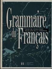 GRAMMAIRE DU FRANCAIS  AA.VV. HACHETTE 1991