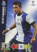 ALEX SANDRO # BRAZIL FC.PORTO CHAMPIONS LEAGUE TRADING CARDS 2013