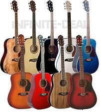 New Oscar Schmidt OG2 Full Size 6-String Dreadnought Acoustic Guitar