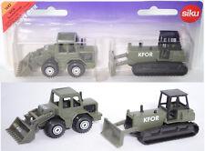Siku Super 1682 KFOR Räumfahrzeuge Frontlader und Planierraupe