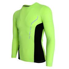 Perfeclan Men Compression Shirt Tight Long Sleeves Sportwear T-Shirt Tops