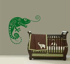 Lizard Chameleon Vinyl Wall Art Sticker Bedroom Kitchen