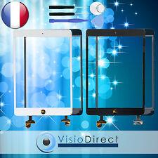Vitre ecran tactile pour iPad Mini 3 blanc/noir avec IC + outils