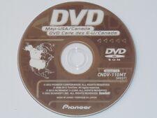 PIONEER CNDV-110MT WEST DISC NAVIGATION DVDS 2012 GPS MAPS AVIC N & D