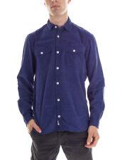 O´Neill Camisa Casual de manga larga SO Call Blau cordón óptica Babycord