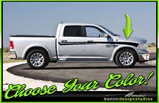 Dodge Ram 1500 2500 3500 ALL YEARS 2/4 DOOR Side Racing Stripes