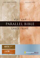 ZONDERVAN STAFF - KJV/Amplified Parallel Bible, Large Print (King James